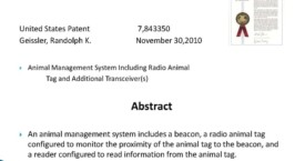 Animal Management System Including Radio Animal Tag and Additional Transceivers